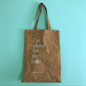 Handbags - Anthropologie Cork Tote